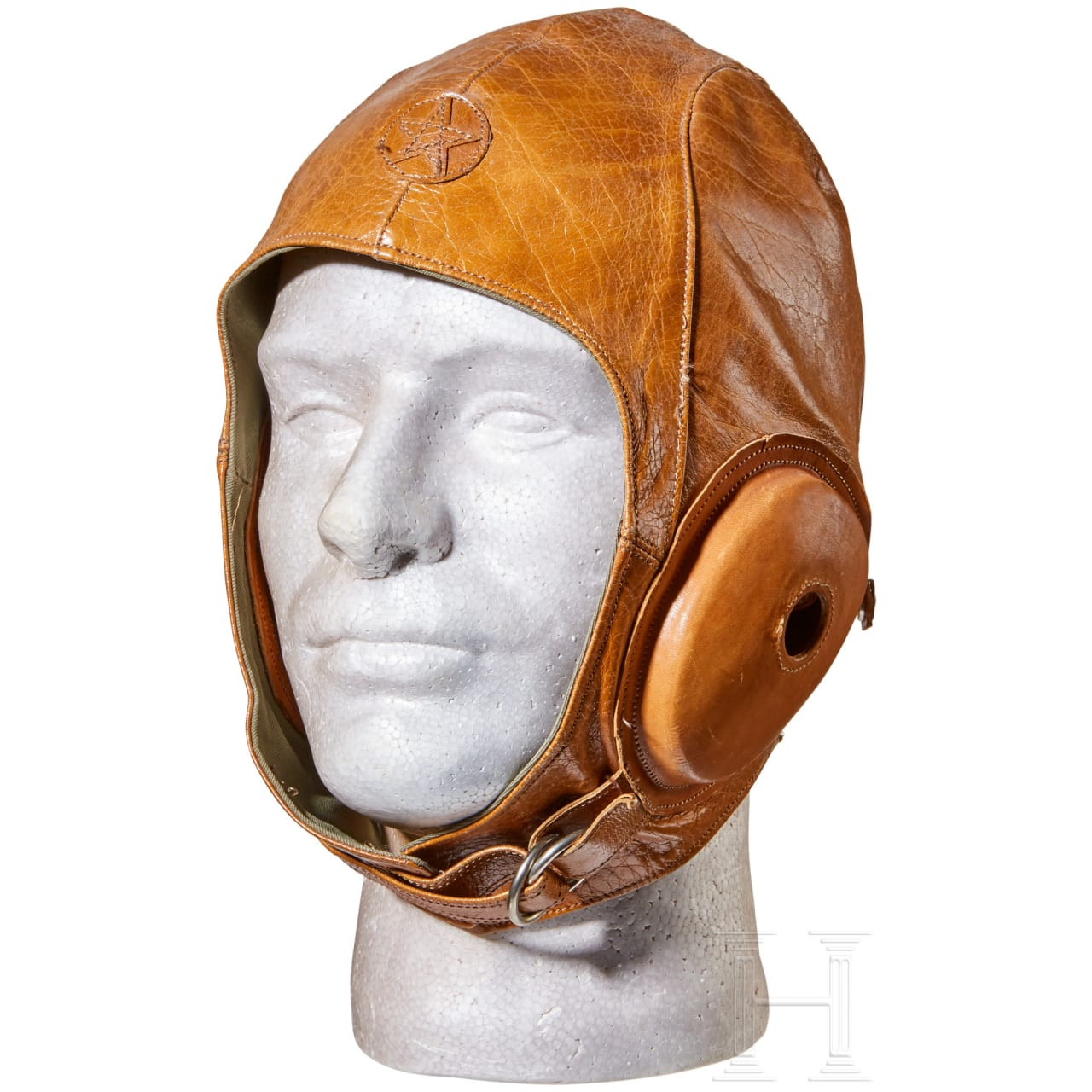 A Japanese Army Pilot Flight Helmet