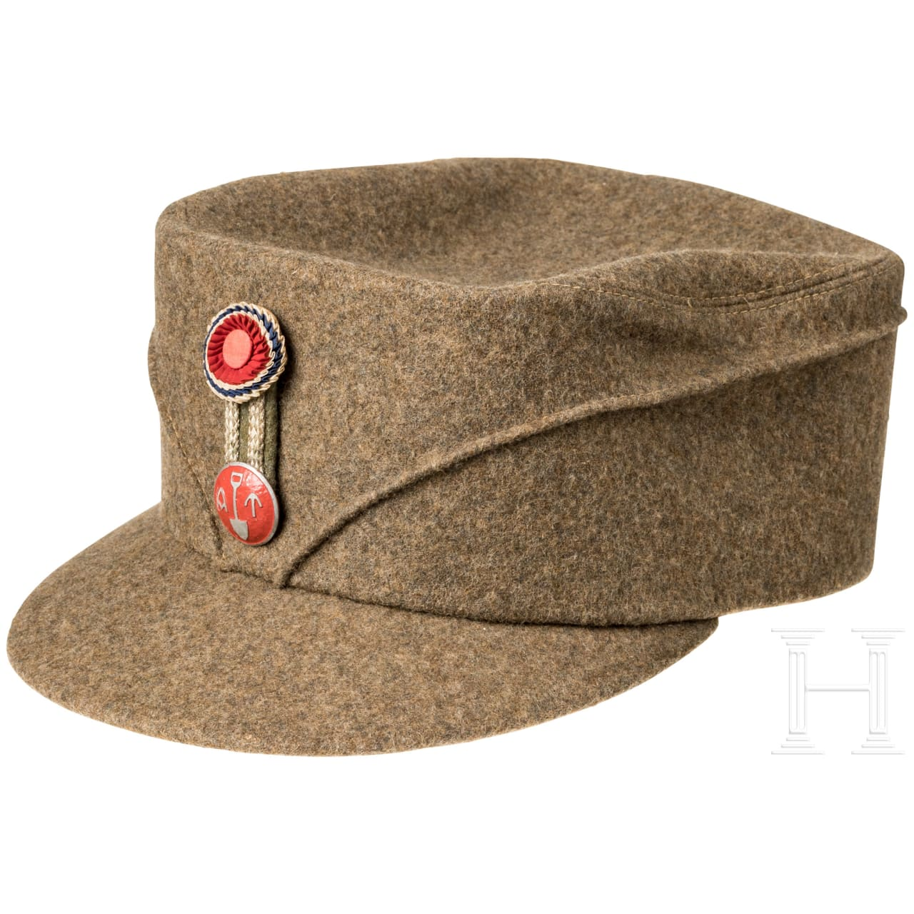 "Cap for members of the Norwegian ""Arbeids-tjensten"", about 1942"