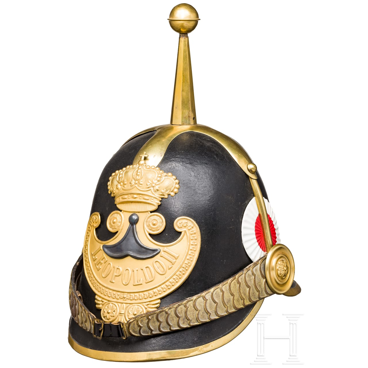 "Helmet of the ""Guardia Civica"" from the reign of Leopold II, Grand Duke of Tuscany (1824-1859)"