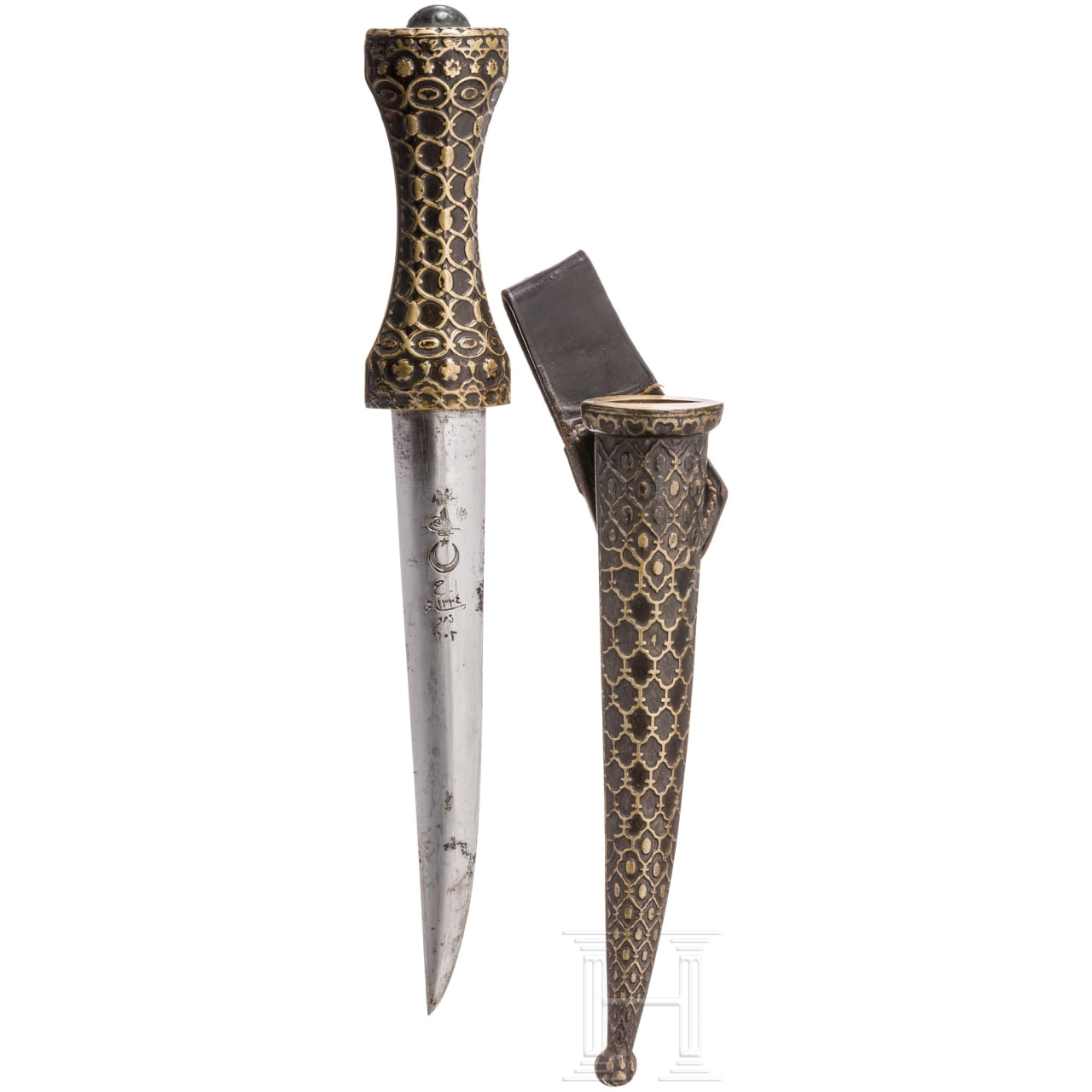 Dagger for officers, dated 1916