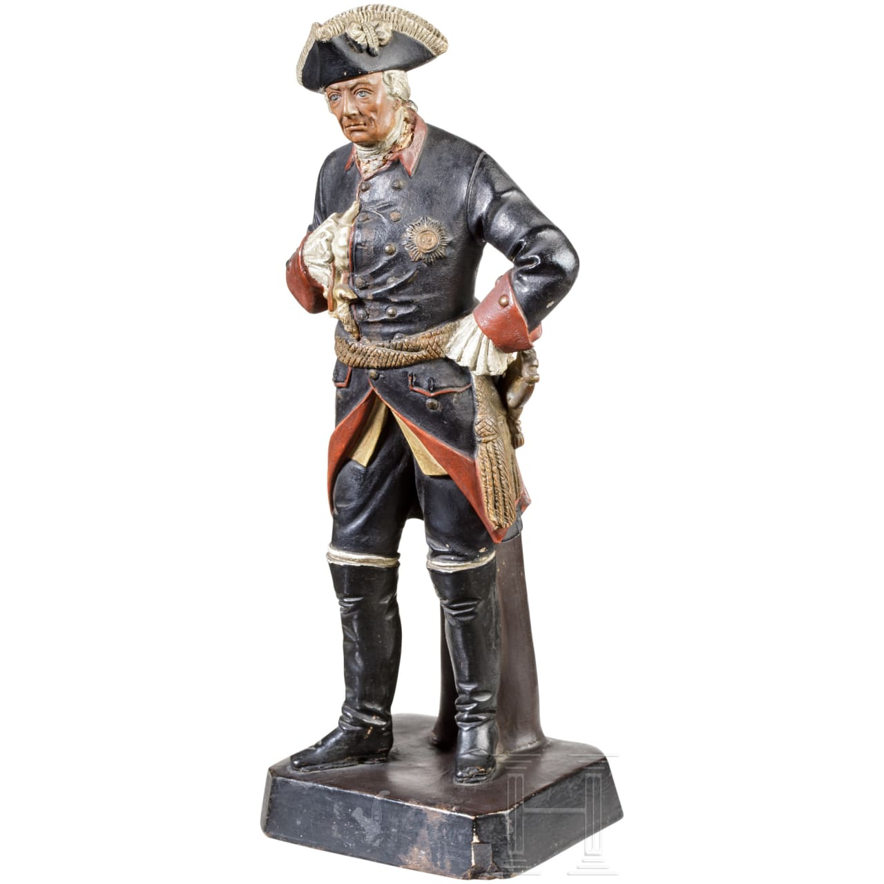 A German sculpture of Frederick the Great, 19th century