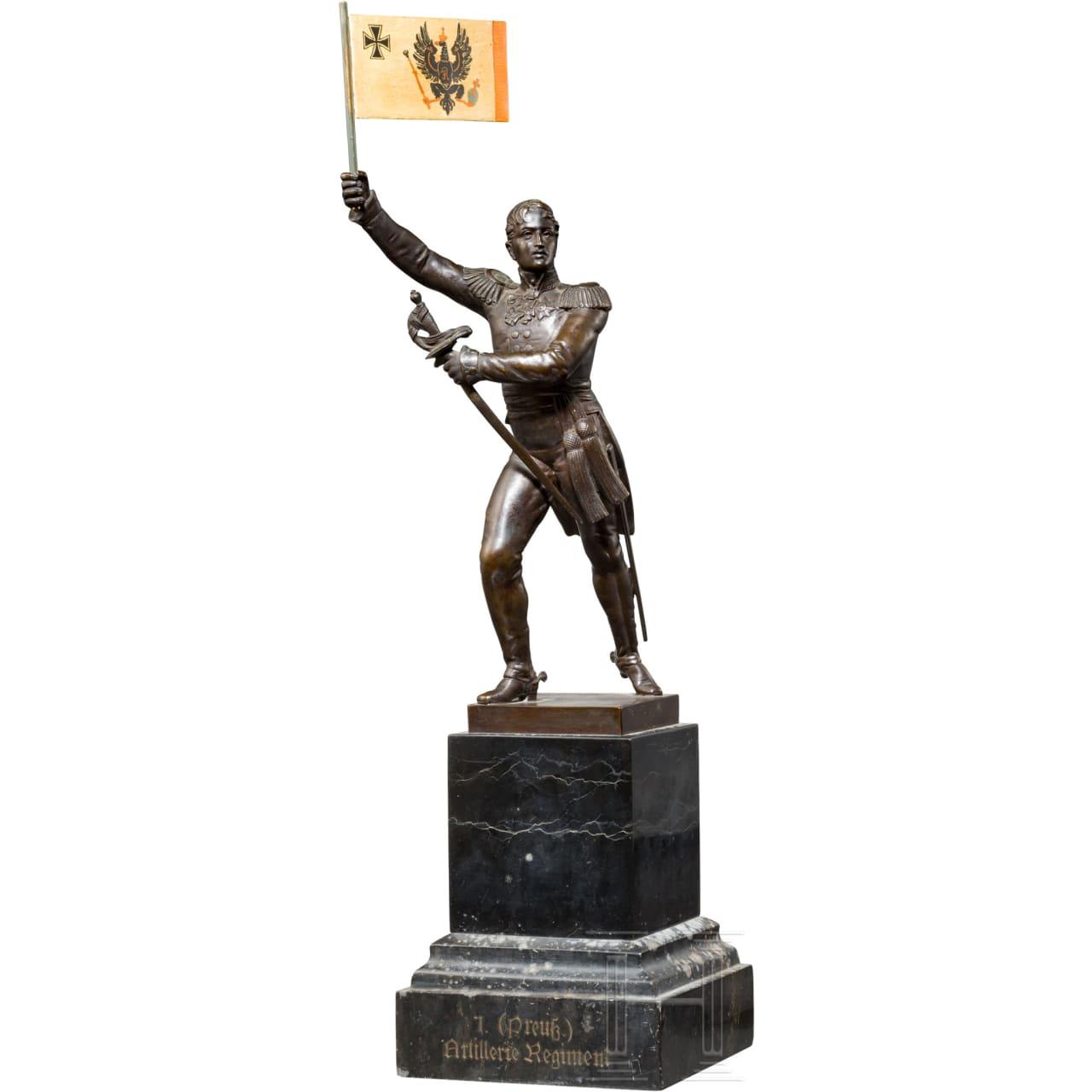 King Friedrich Wilhelm III. of Prussia (1770 - 1840) - bronze statue