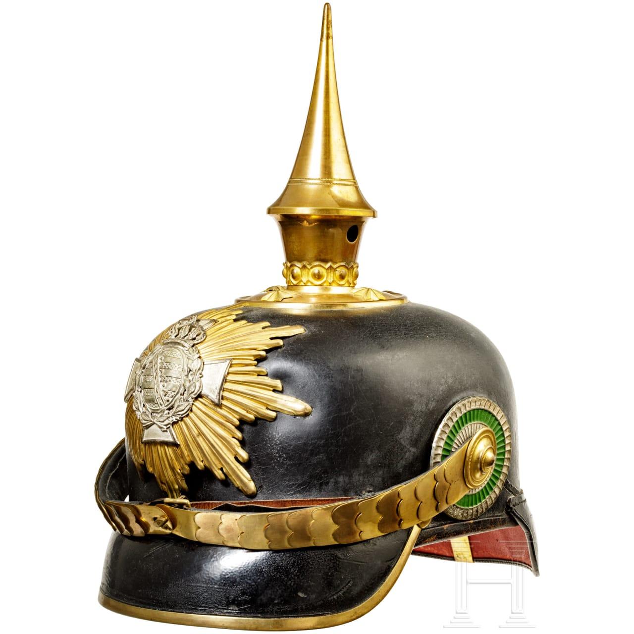 Helmet for reserve officers, c. 1910