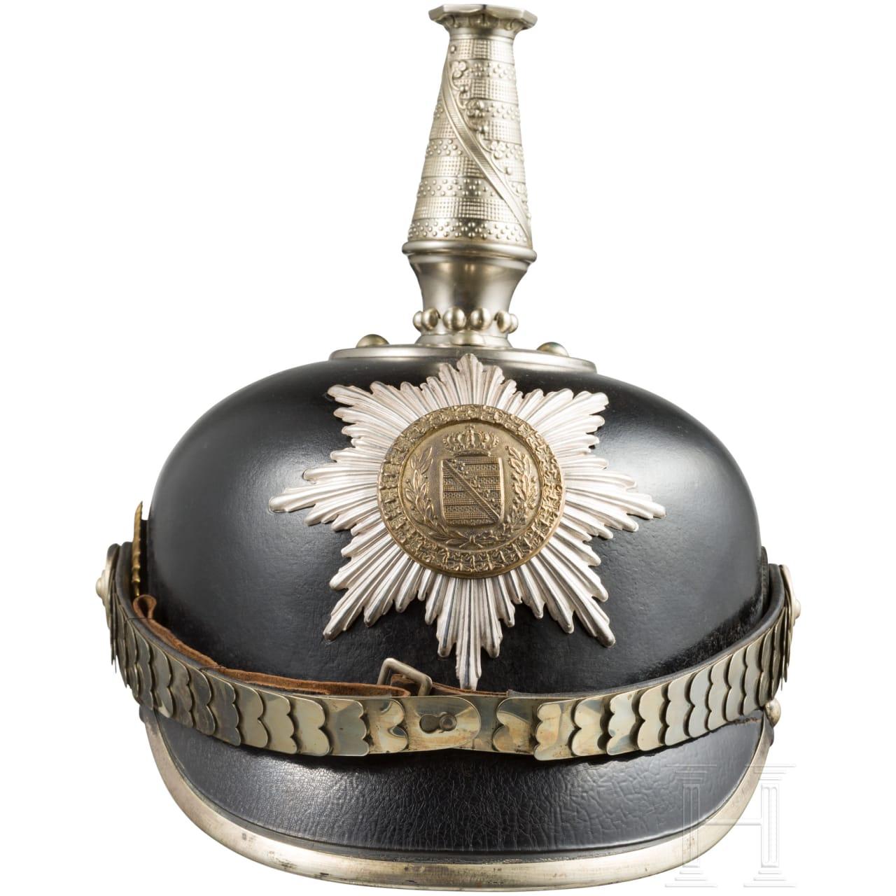Helmet for troopers in the Ducal Infantry Regiment, c. 1890