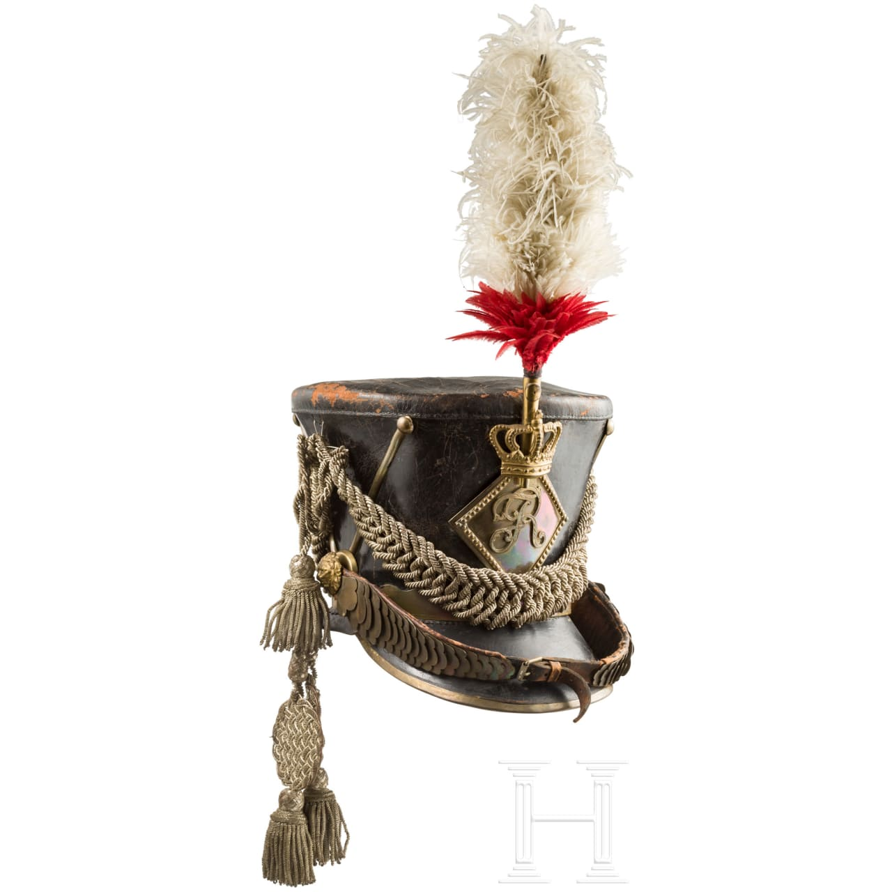 Shako for officers of the cavalry, 1813 - 1815