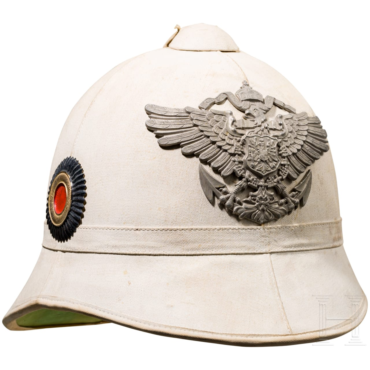 Tropical helmet for a member of the Imperial Navy / sea battalions or the colonial protection force