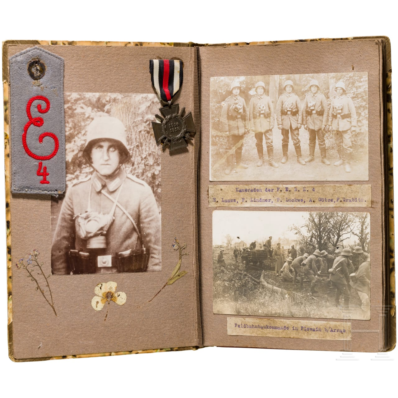 Memorial album of a pioneer of the Fortress Railway Construction Company 4