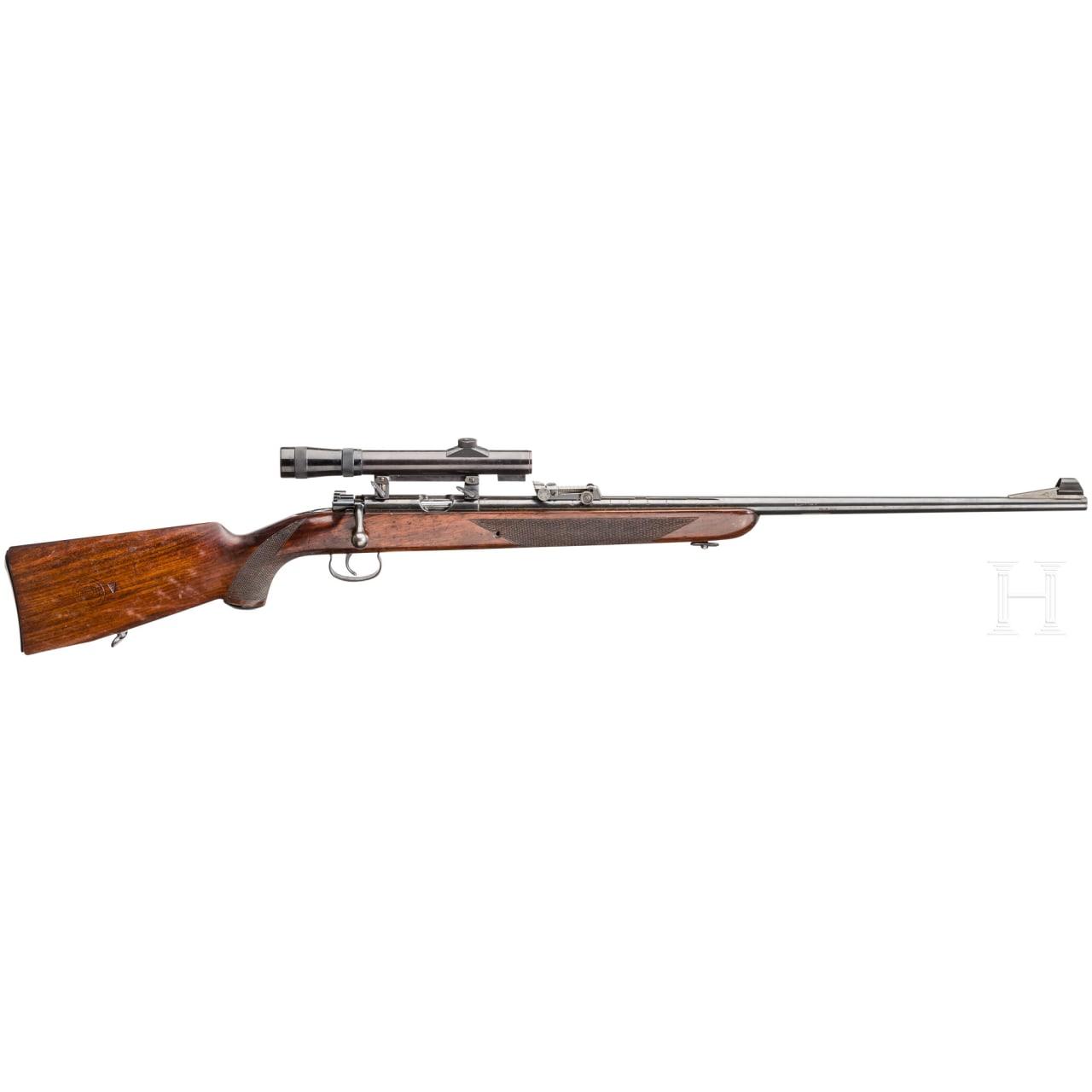 """Mauser Mod. Es 350 B """"Meisterschaftsbüchse, mit ZF Nickel"""