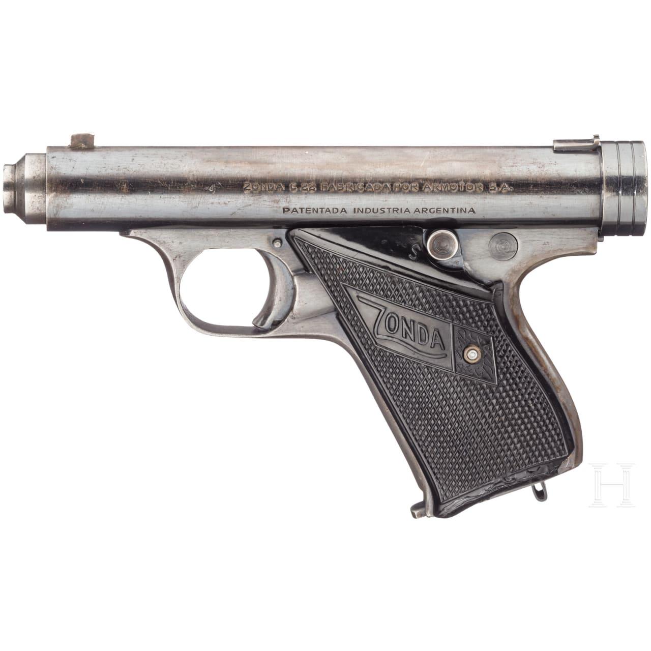 Pistole Zonda