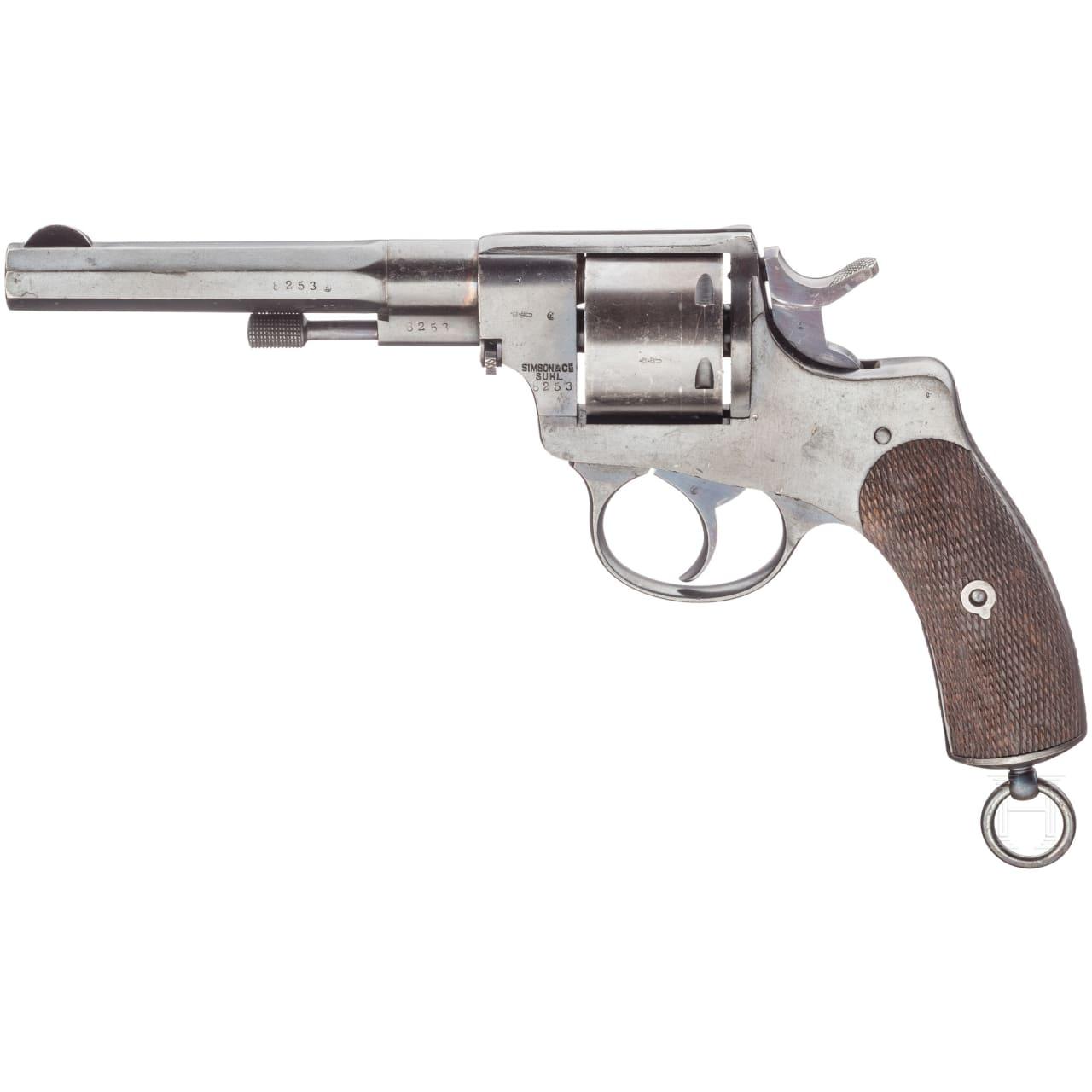 Revolver 1893, Simson Suhl