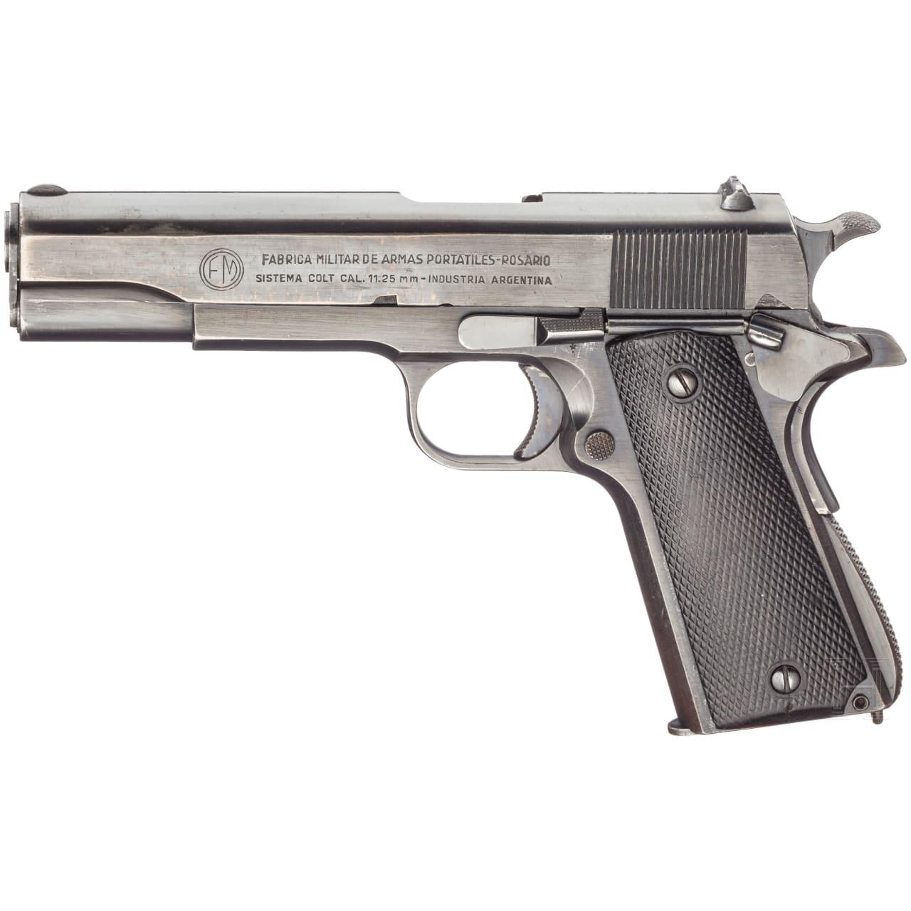 FMAP System Colt Mod. 1927, Polizei