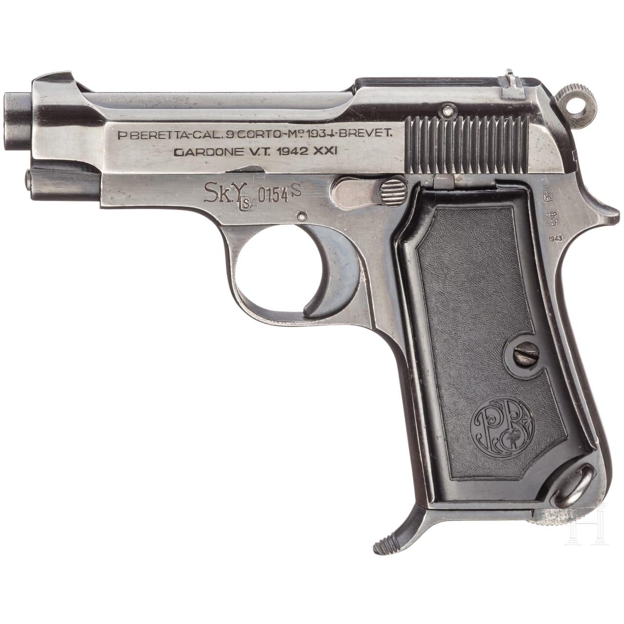 Beretta Mod. 34, F-Serie