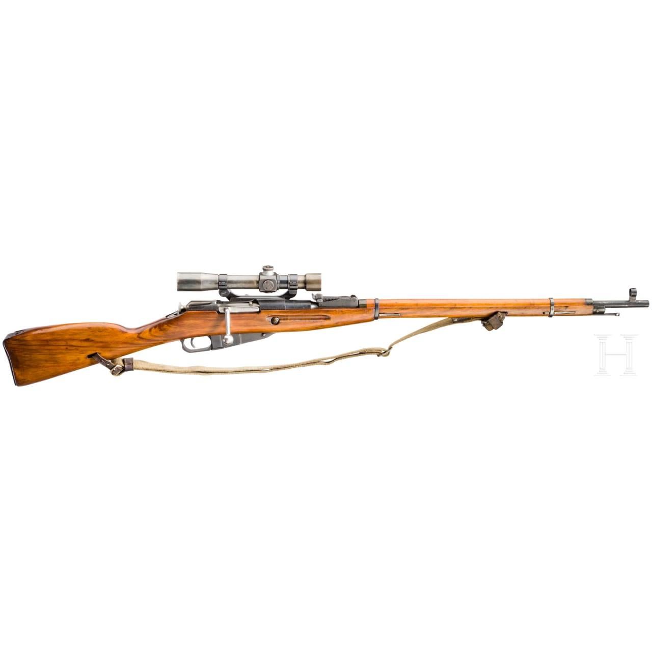 Scharfschützengewehr Mosin-Nagant Mod. 1891/30, mit ZF PEM