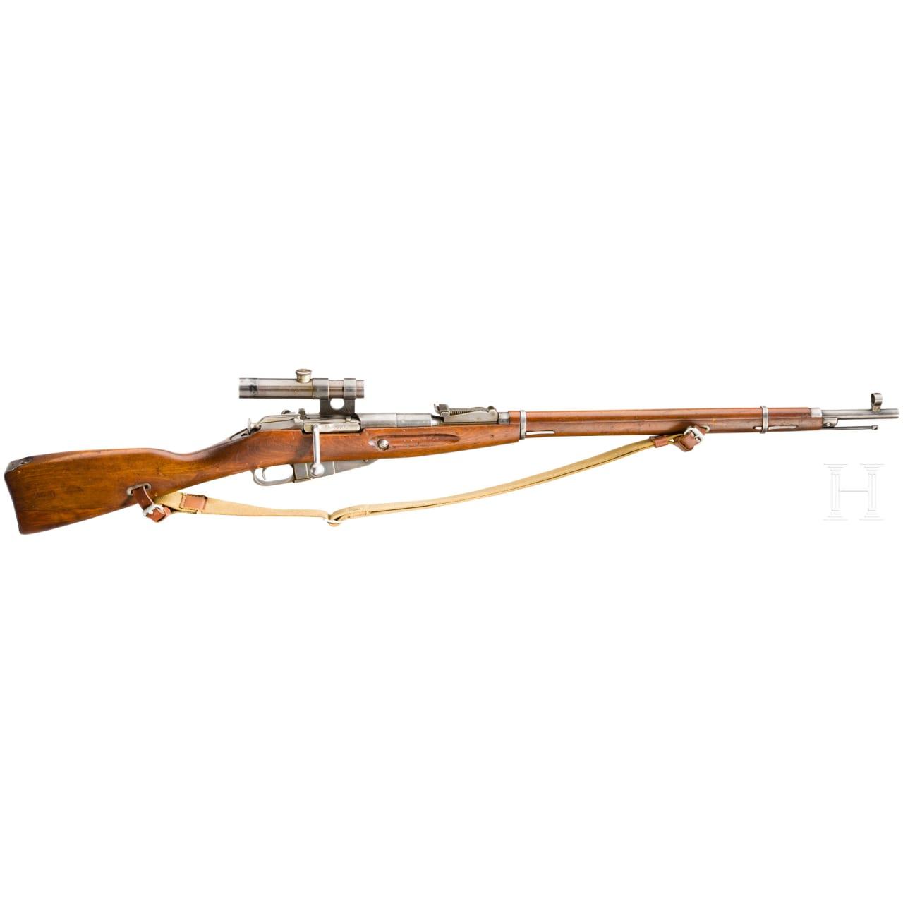 Scharfschützengewehr Mosin-Nagant Mod. 1891/30 , mit ZF PU