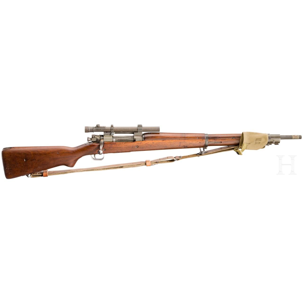 Originales Scharfschützengewehr Remington Mod. 1903-A3/A4, mit ZF Weaver
