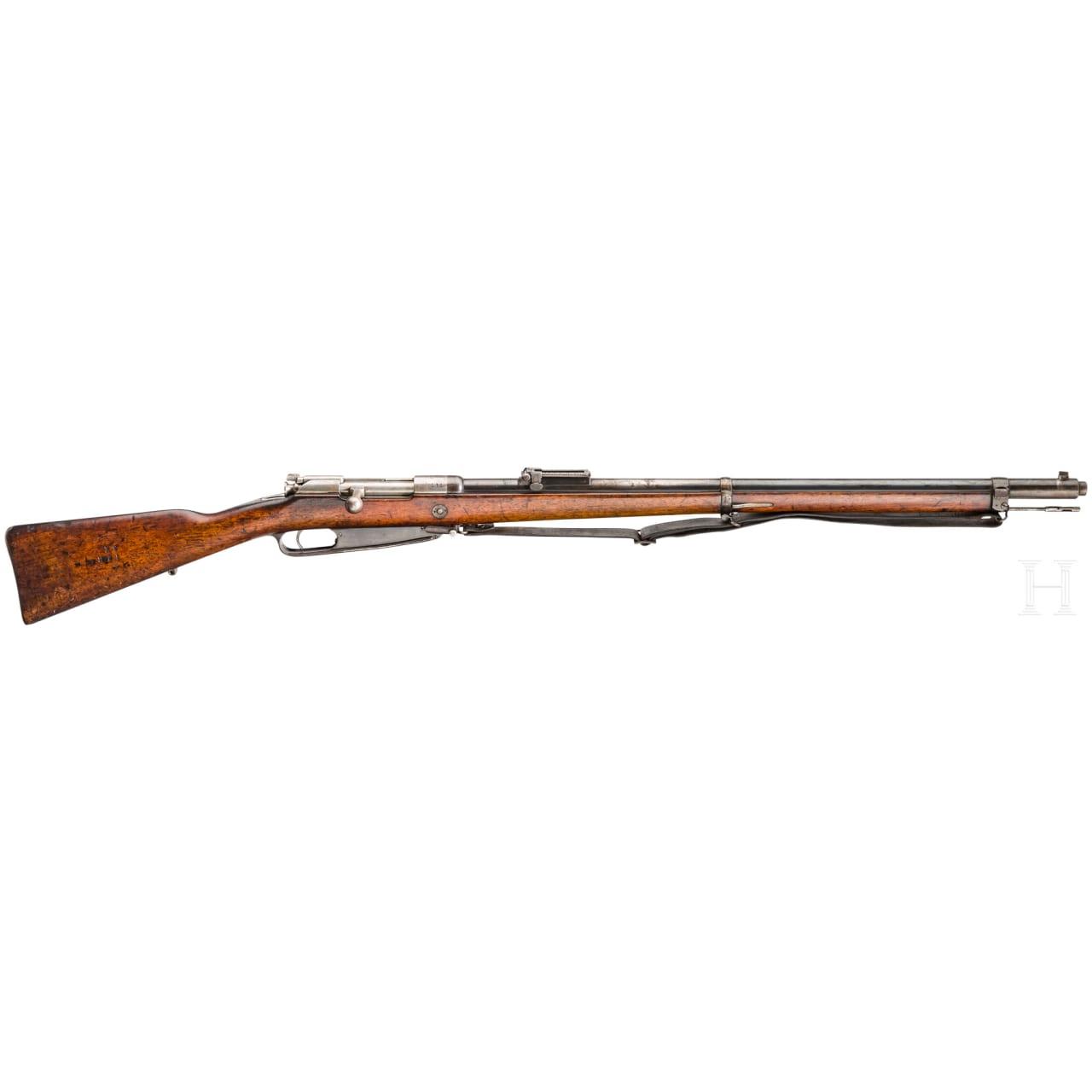 Gewehr 88, Amberg, 1891