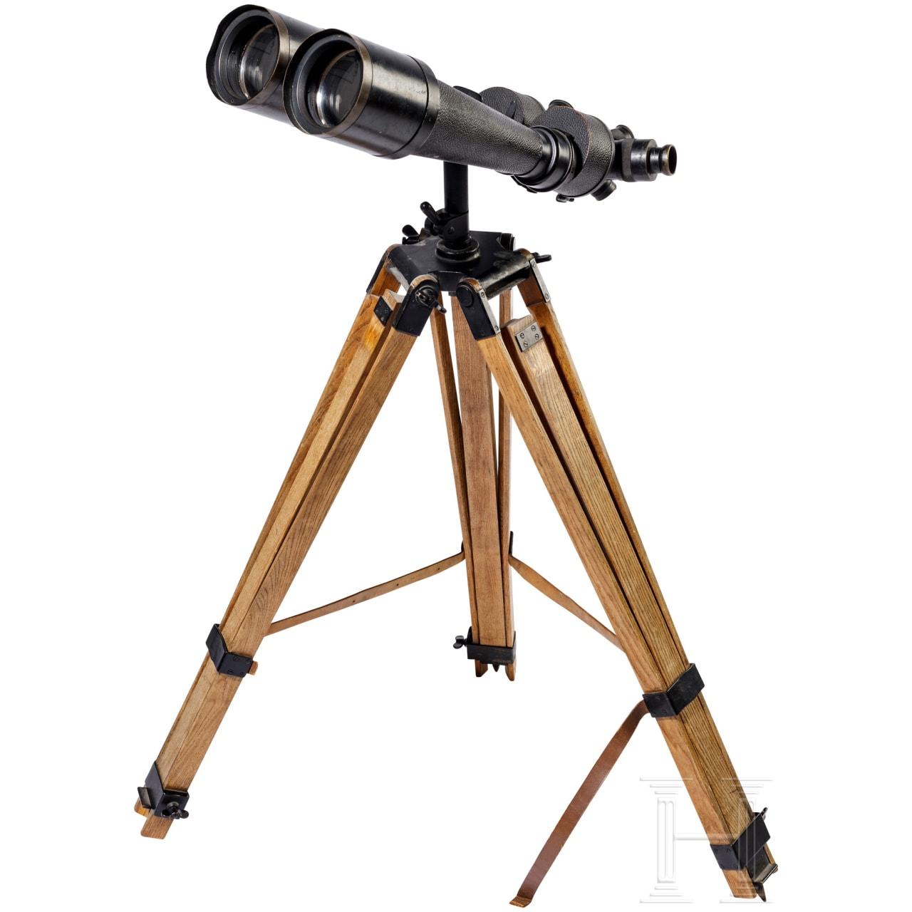 """Carl Zeiss Jena turret binoculars """"Asembi""""- D.F. 12,20,40 x 80"""