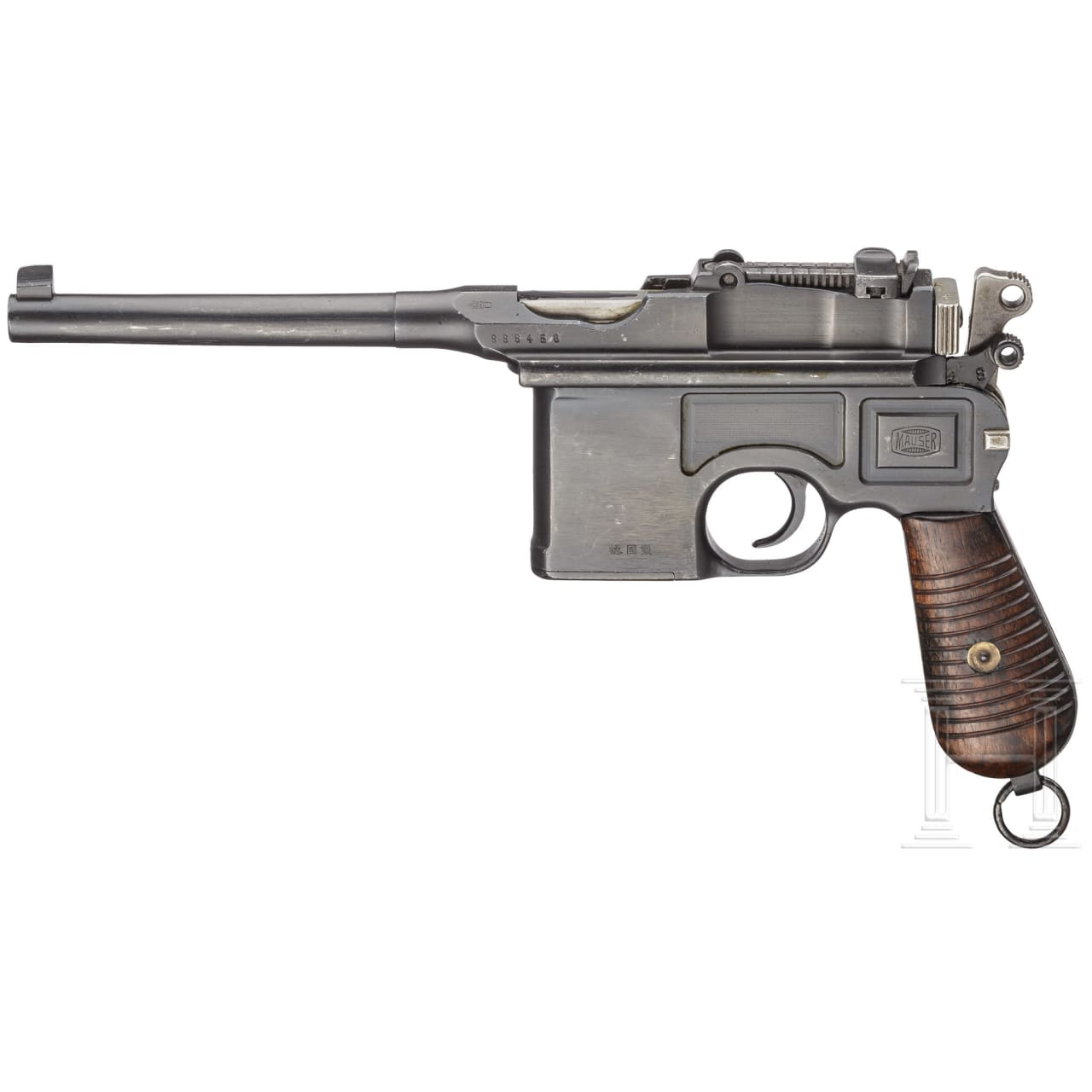 """Mauser C96 """"Chinese Contract"""", with shoulder stock"""