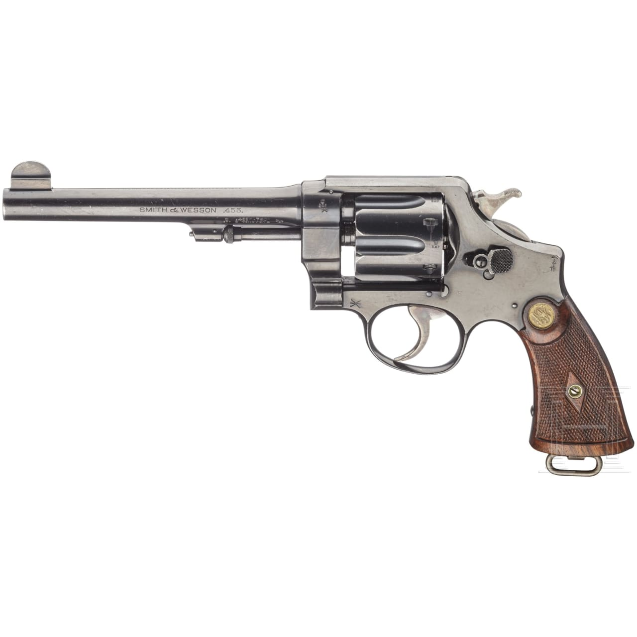 Smith & Wesson .455 Mark II Hand Ejector, 2nd Model