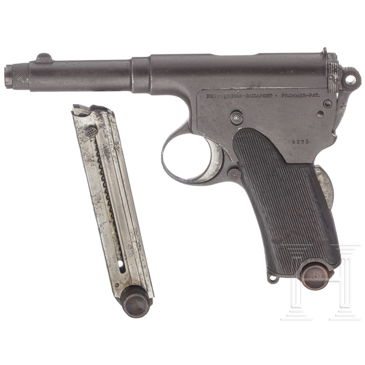 Frommer Mod. 1910, ung. Gendarmerie u.a.