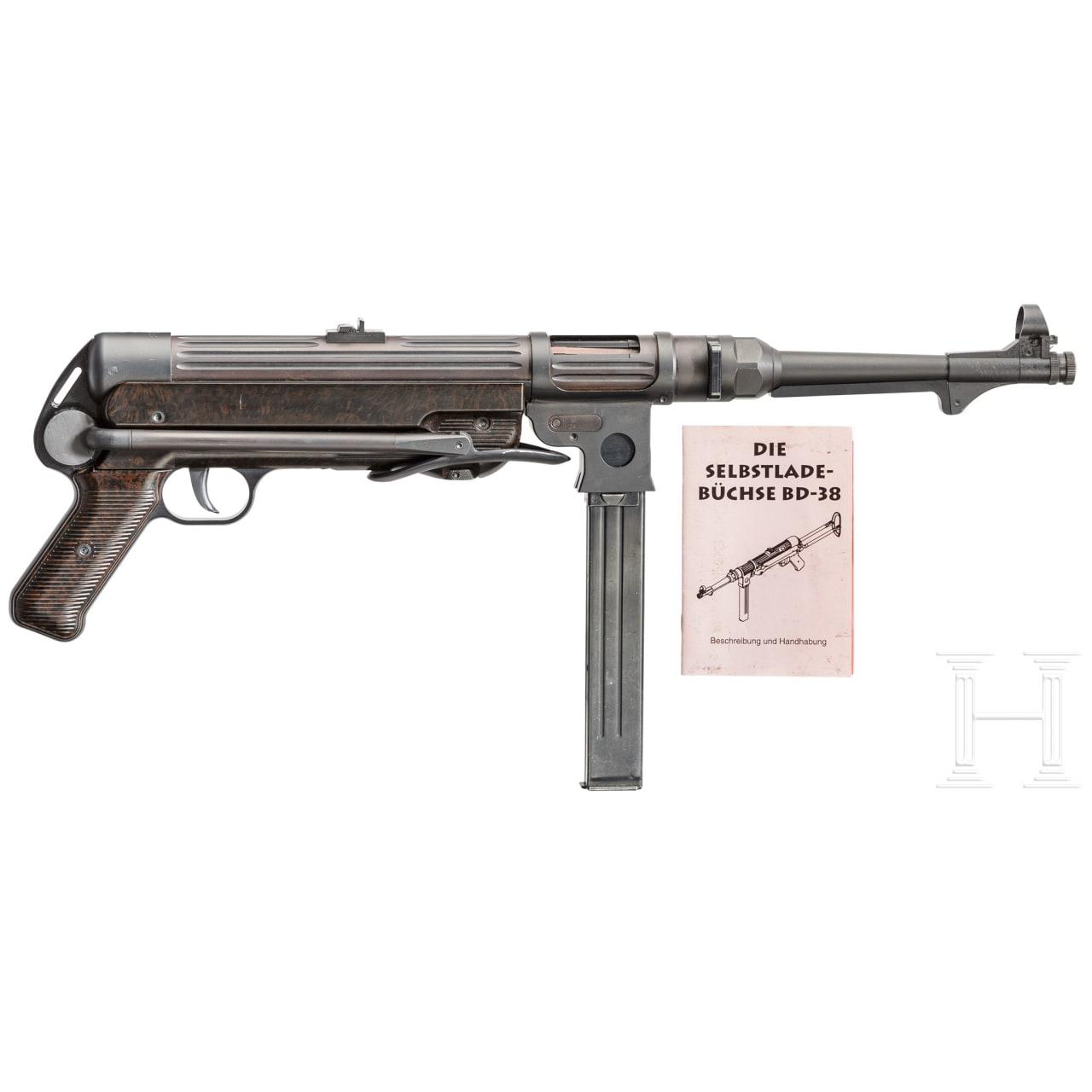 Maschinenpistole Mod. 38, Erma (Dittrich BD 38)