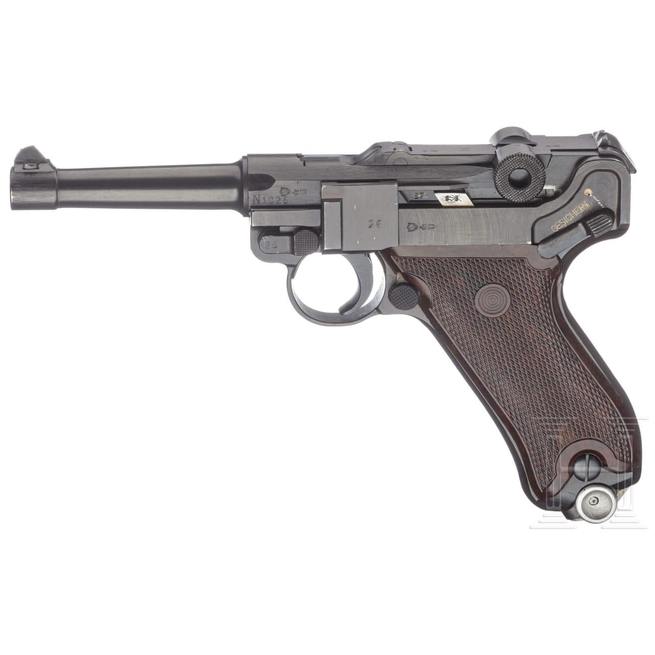 Pistole 08, VEB Thälmann, DDR, Vopo