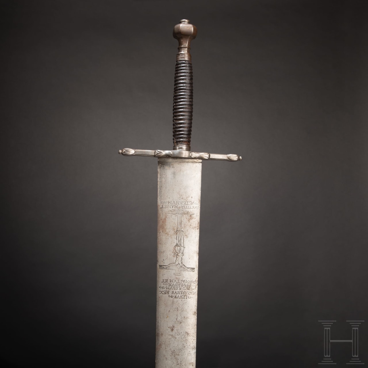 A German executioner's sword, 17th century