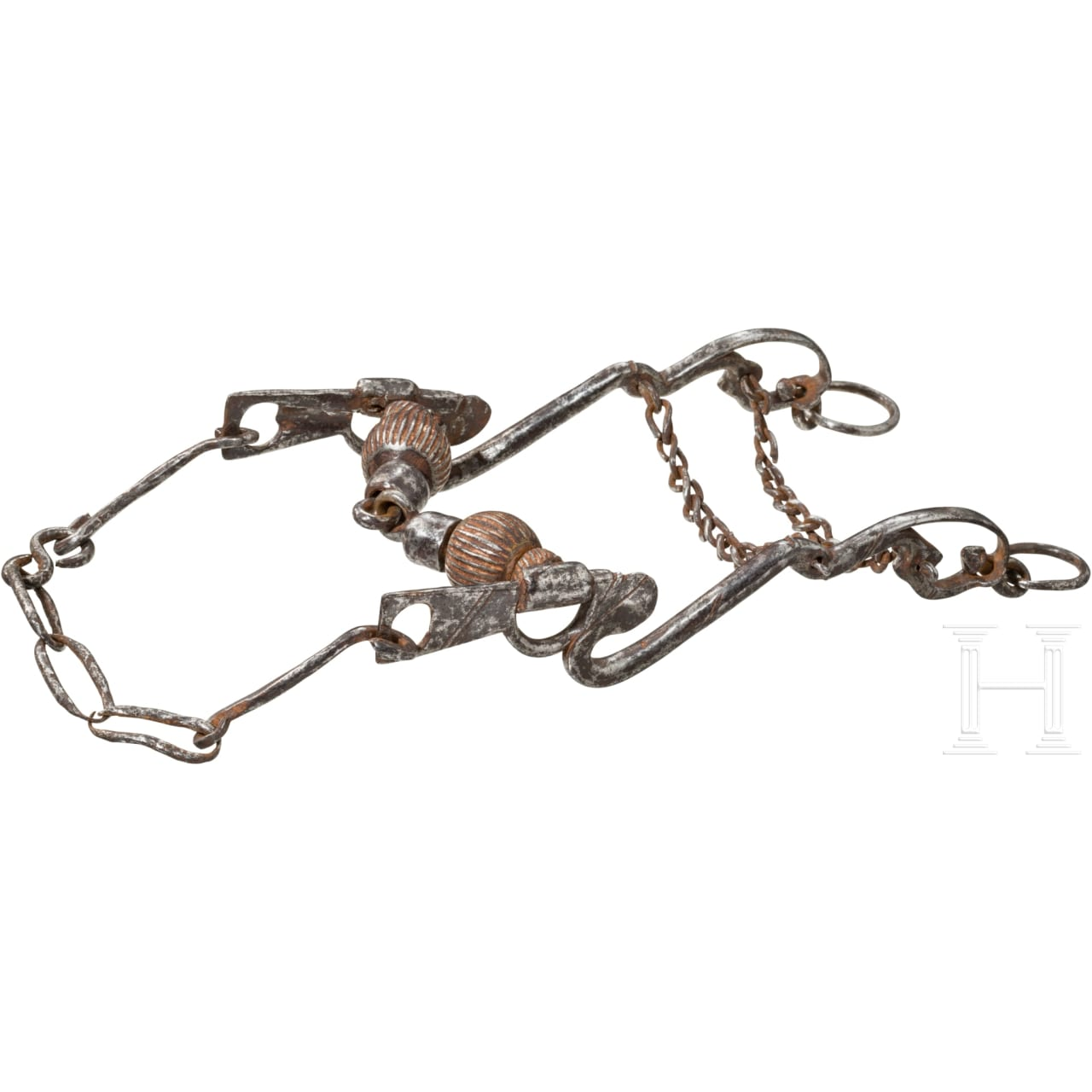 A French snaffle, late 17th century