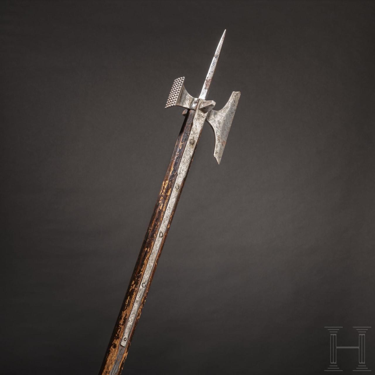 A German Gothic war hammer, 2nd half of the 15th century