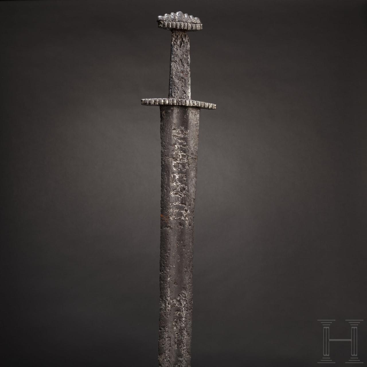 A fine Northern European Viking sword with an Ulfberht blade, 10th century