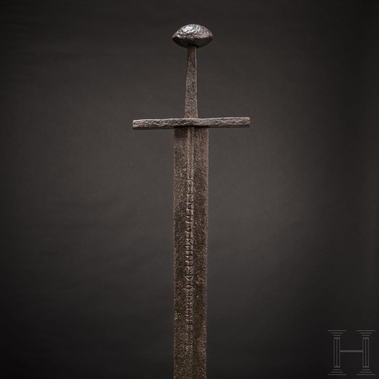 A German knightly sword, circa 1100 – 1150