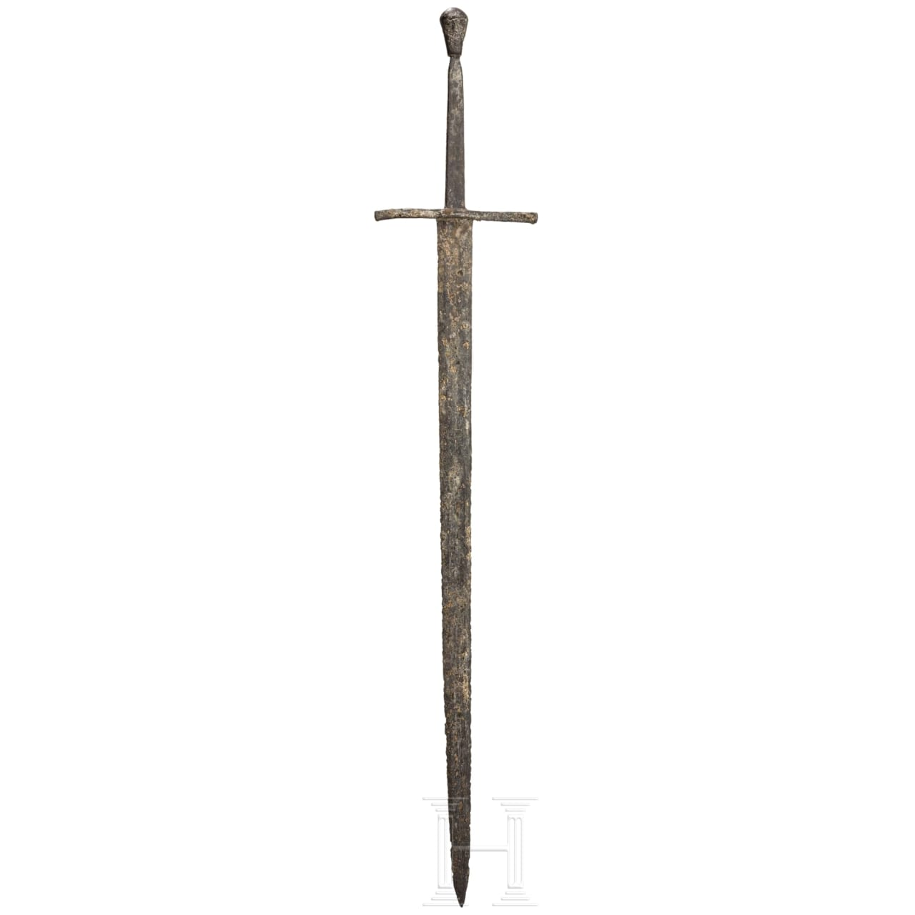 A German or Polish knightly sword, circa 1460