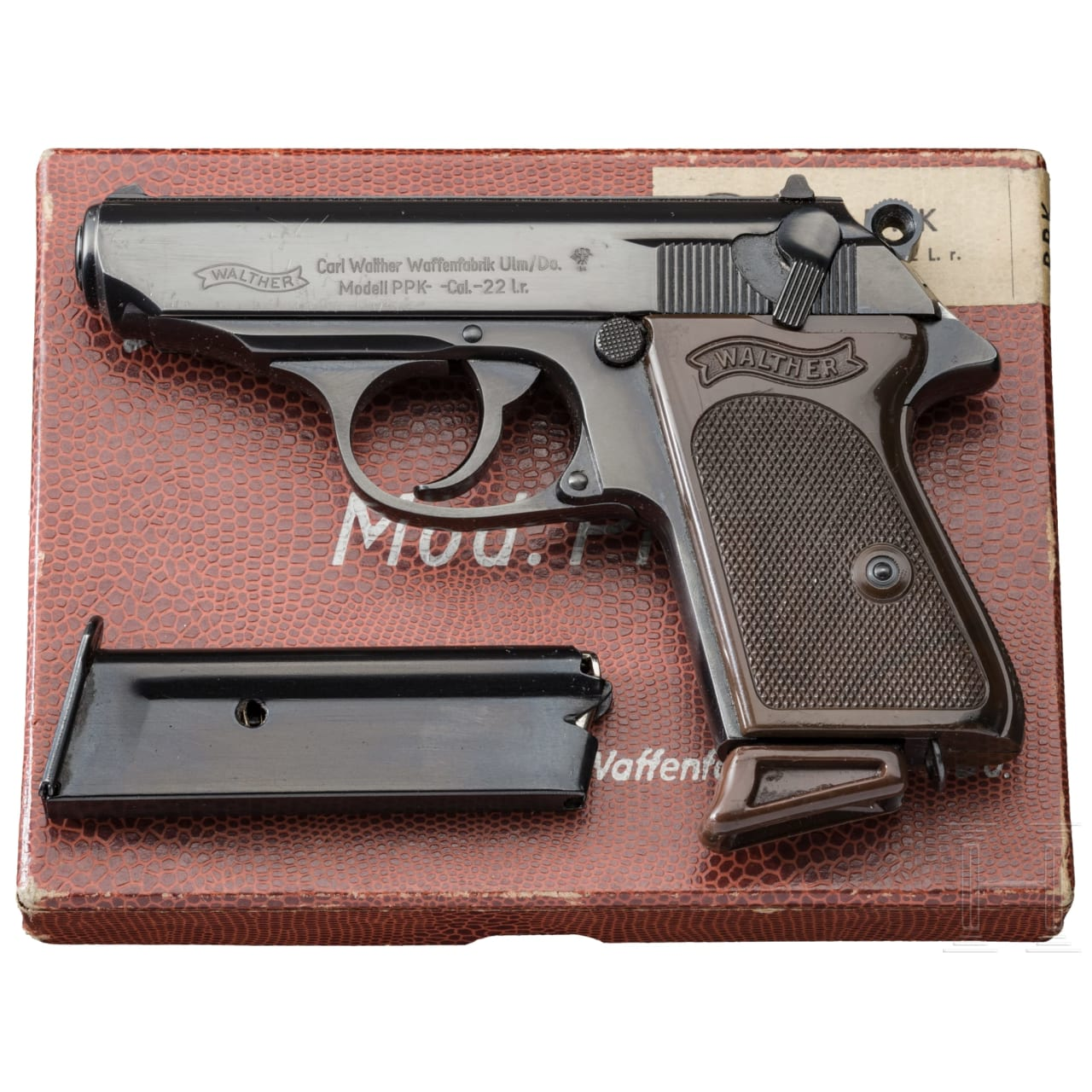 A Walther PPk Ulm with box