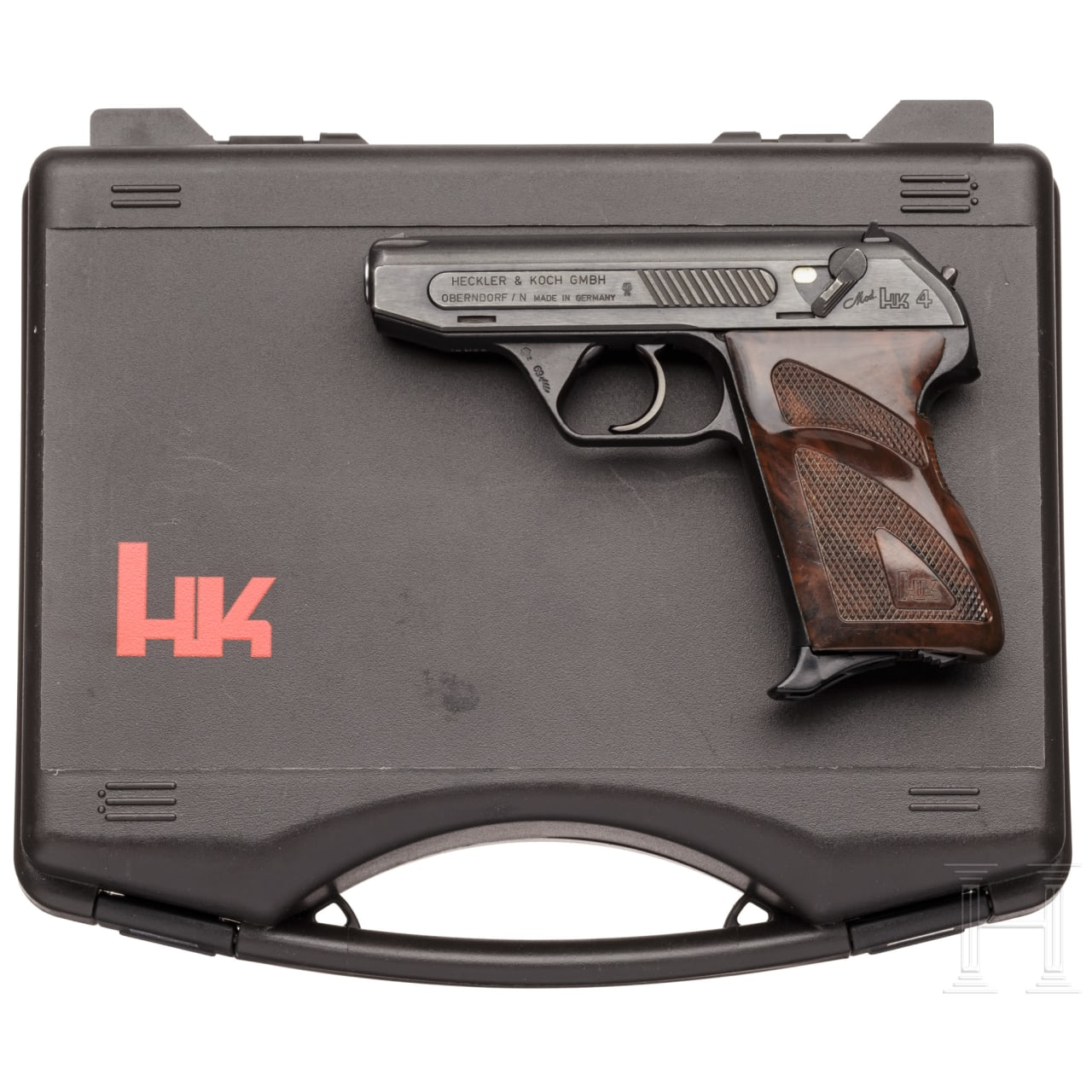 A cased Heckler & Koch M HK 4