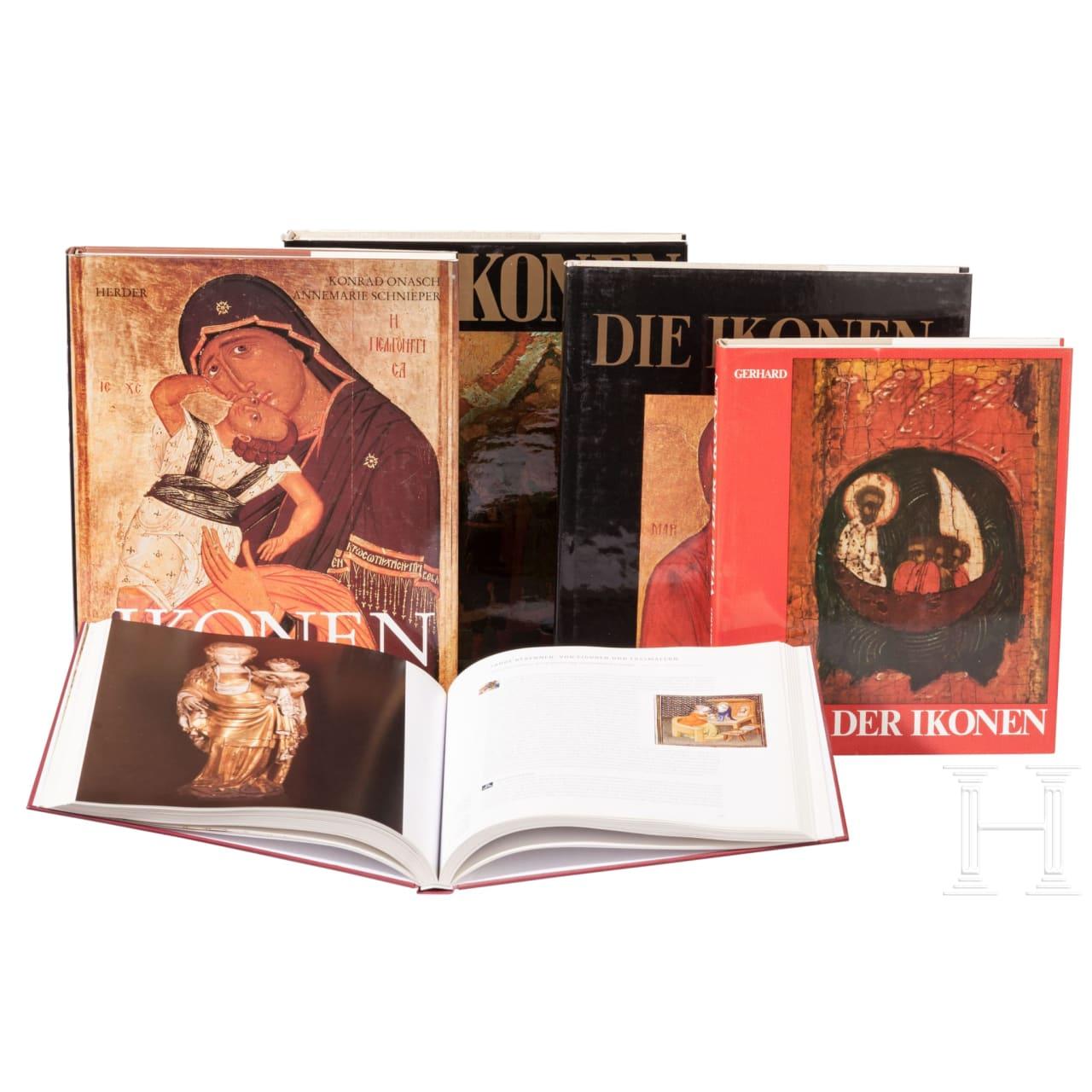 Fünf Kunstbücher zum Thema Ikonen