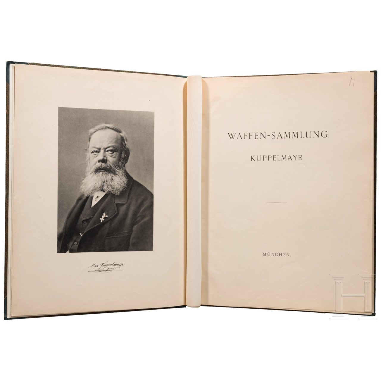 Katalog der Waffensammlung Kuppelmayr, München, 1895
