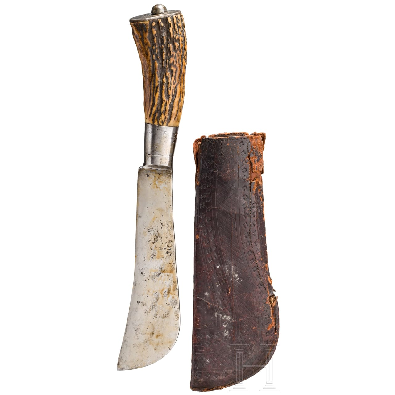 A German butcher's axe, 17th/18th century