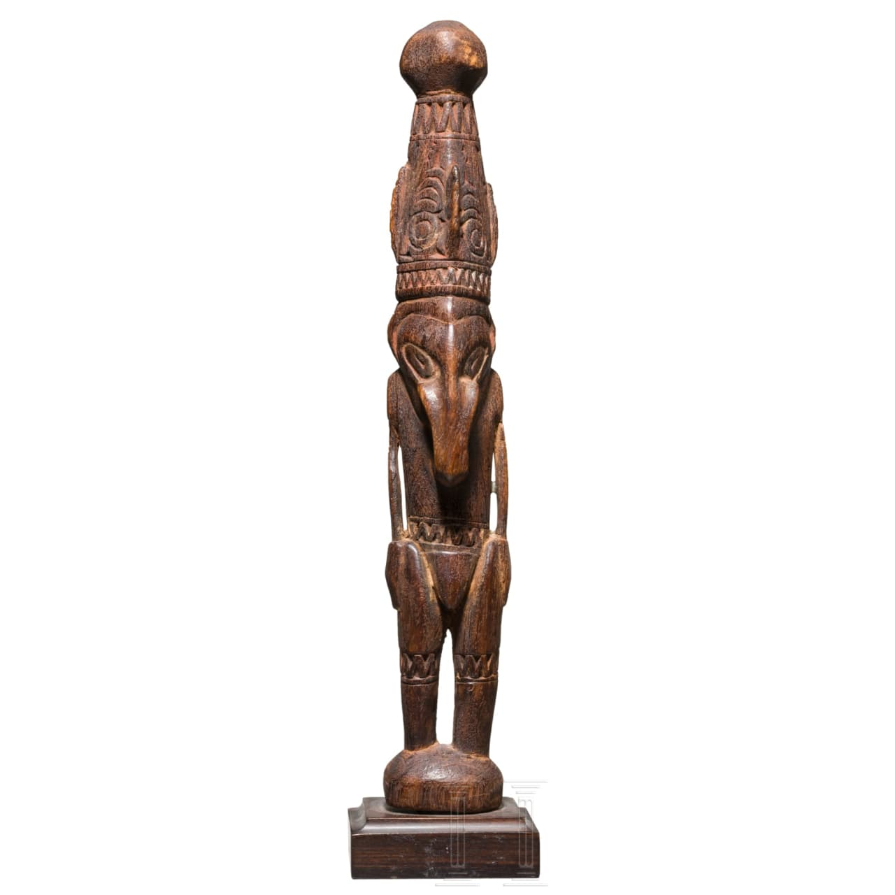 A Papua New Guinean anthropomorphic figure