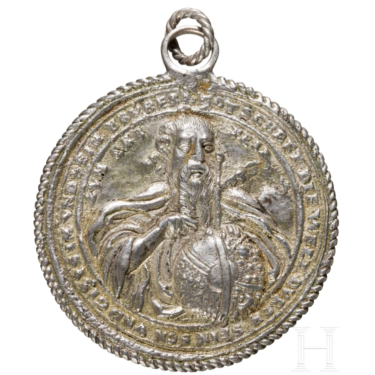 Religiöse Plakette, deutsch, um 1600, Abguss des 17./18. Jhdts.