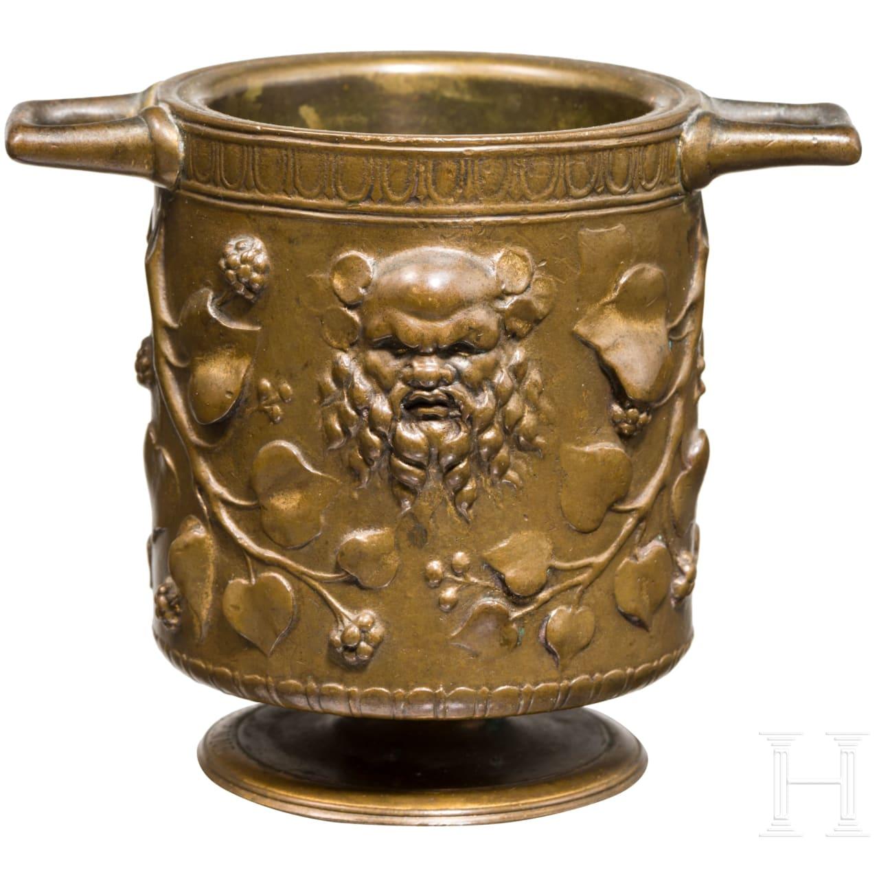 Ferdinand Barbedienne - kleine Bronzevase im antiken Stil, Paris, 19. Jhdt.