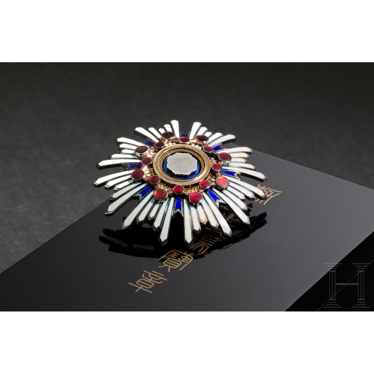 A Breast Star to the Japanese Order of the Sacred Treasure, 2nd Class