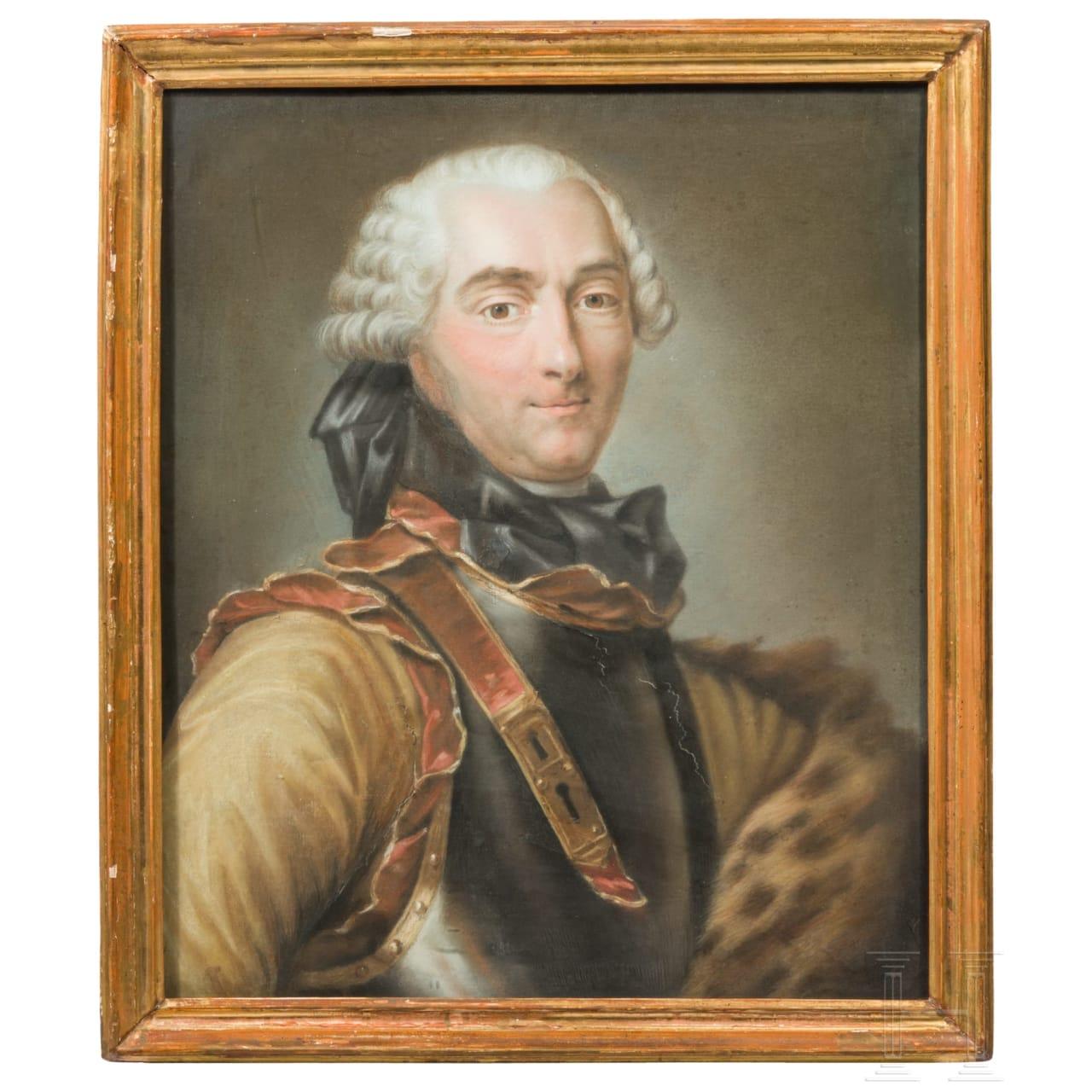 A portrait of Charles Louis Auguste Fouquet, Duc de Belle-Isle (1684-1761), 18th century