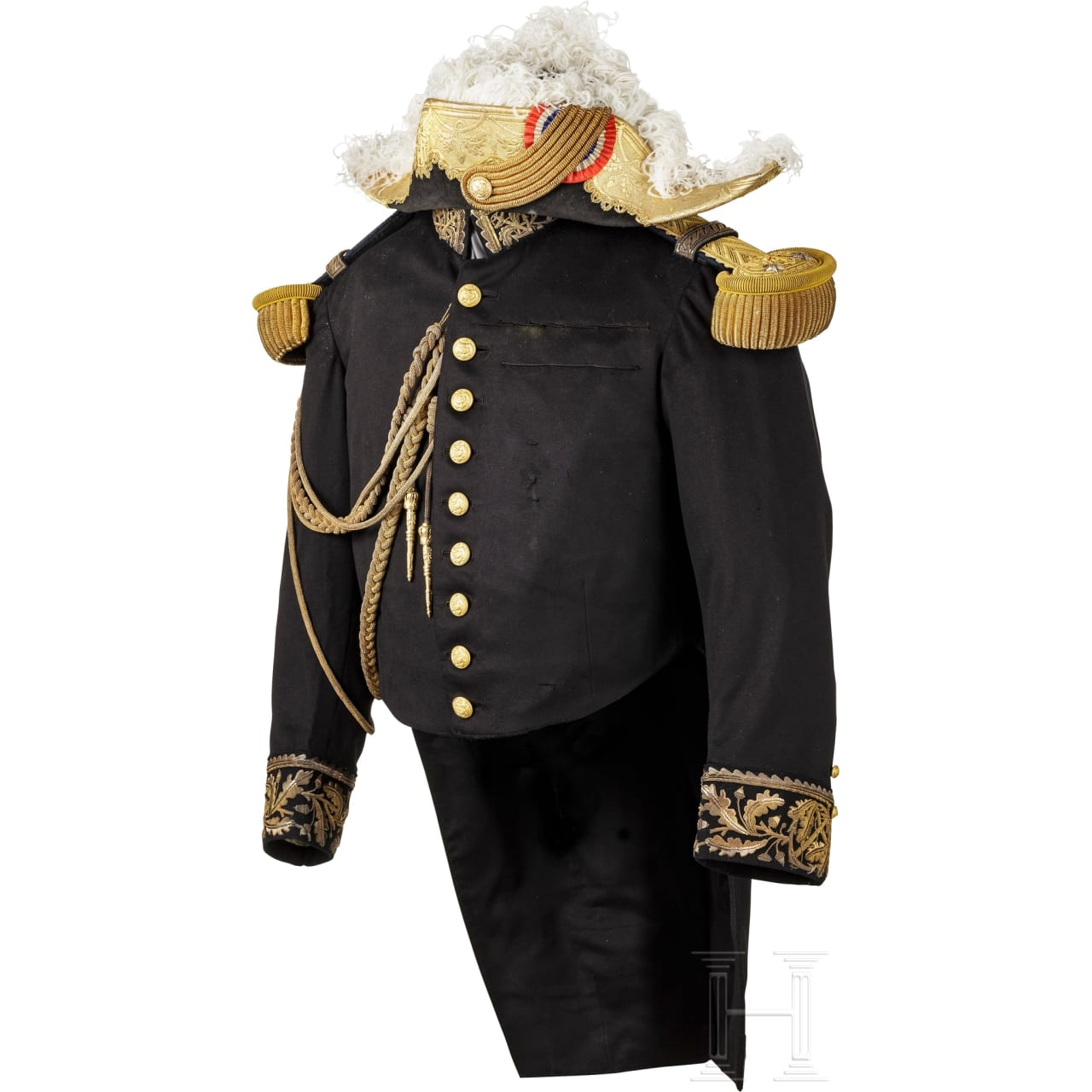 A Rear Admiral's uniform of the French Navy, ca. 1900