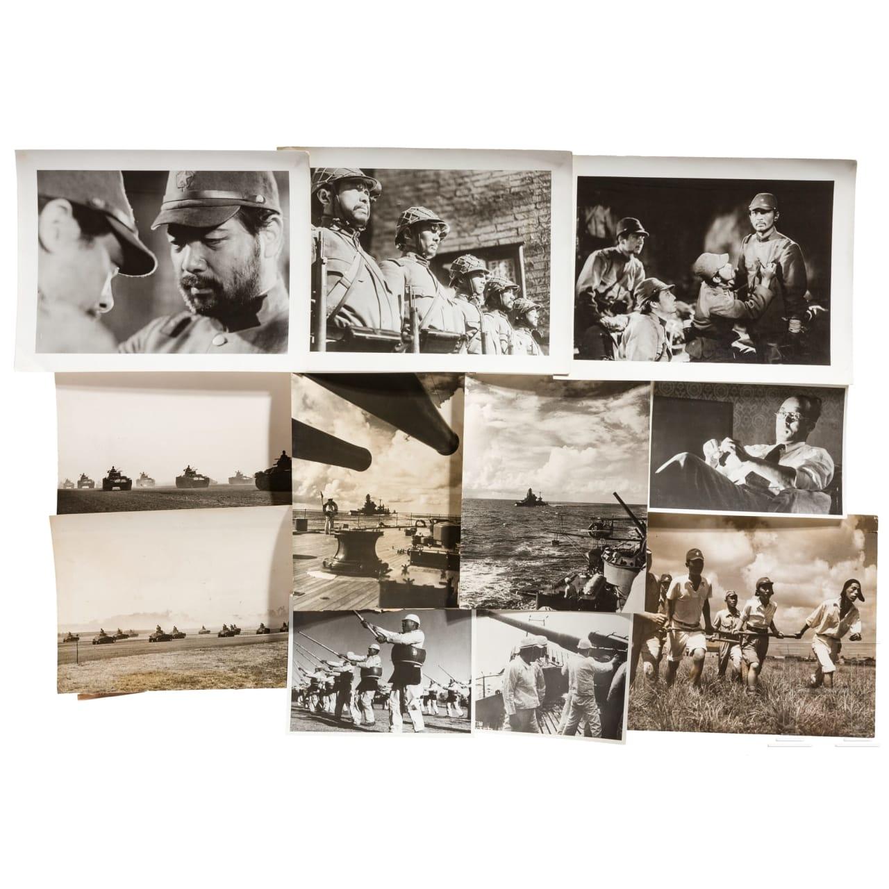 Große Gruppe PK-Fotografien vom fernöstlichen Kriegsschauplatz, 2. Weltkrieg