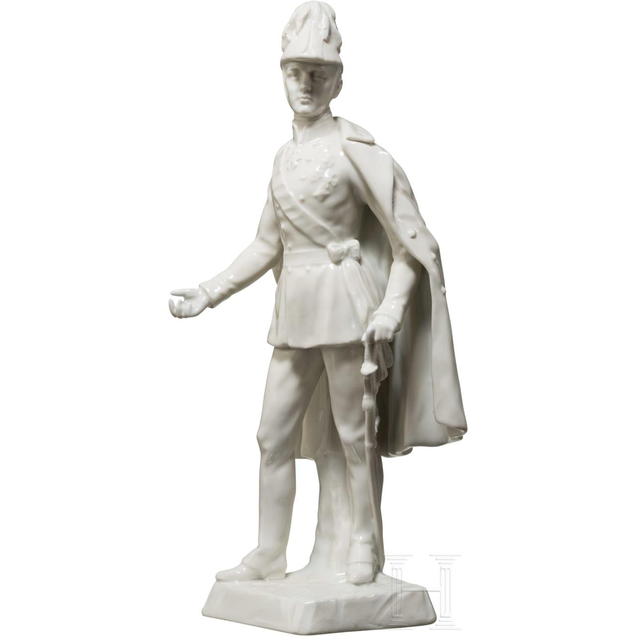 Kaiser Franz Joseph I. von Österreich - Porzellanfigur
