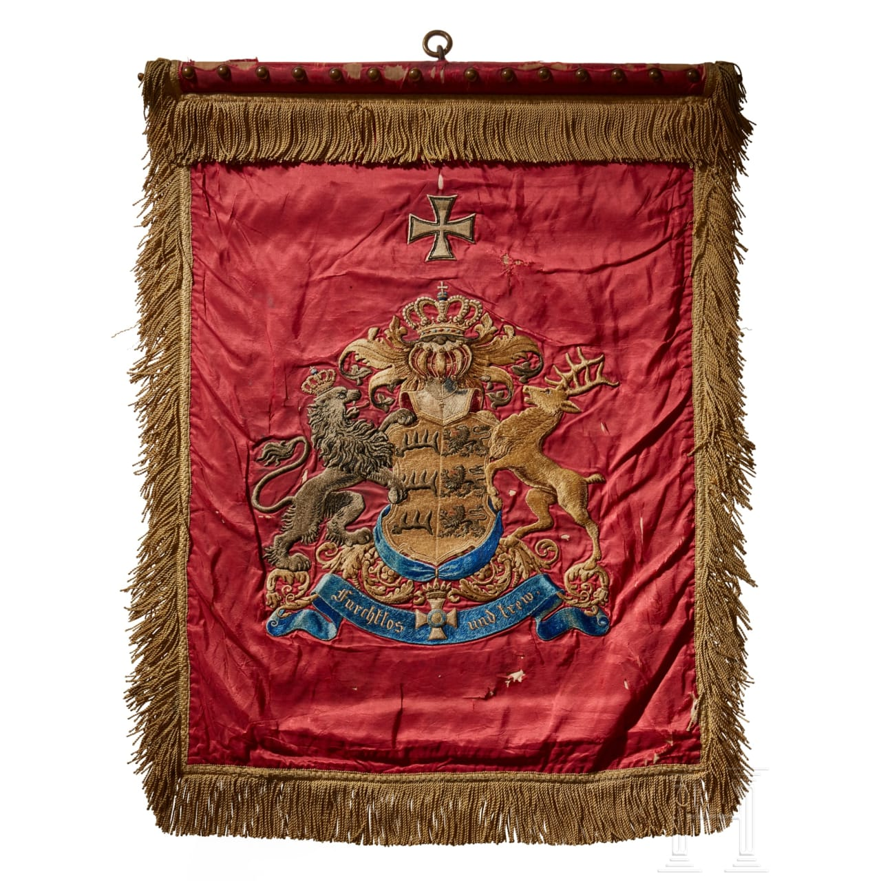 A standard of the Württemberg Dragoon Reserve Regiment