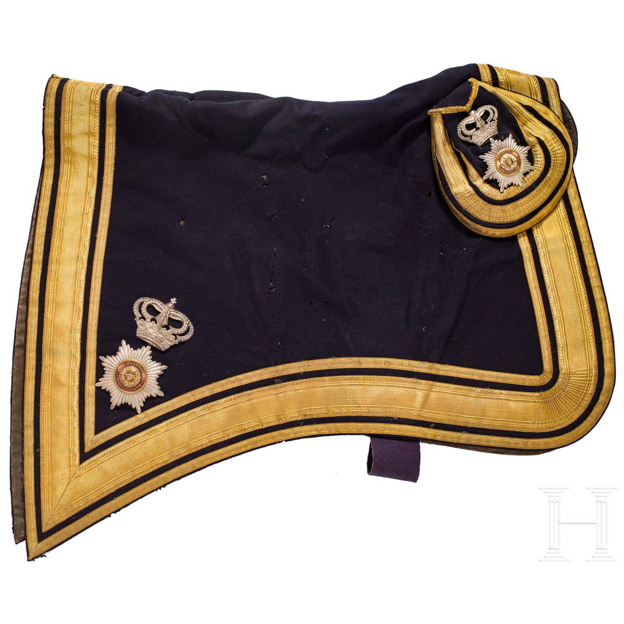 A saddle pad for a general, Germany, ca. 1900