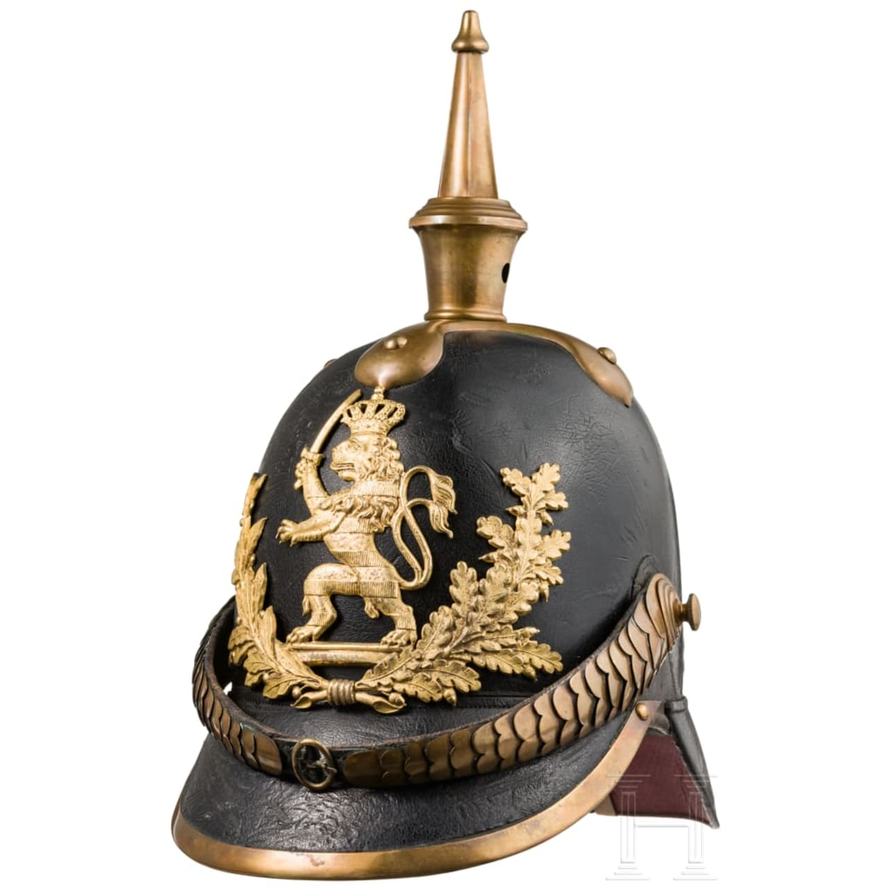 A helmet M 1849 for officers of the infantry
