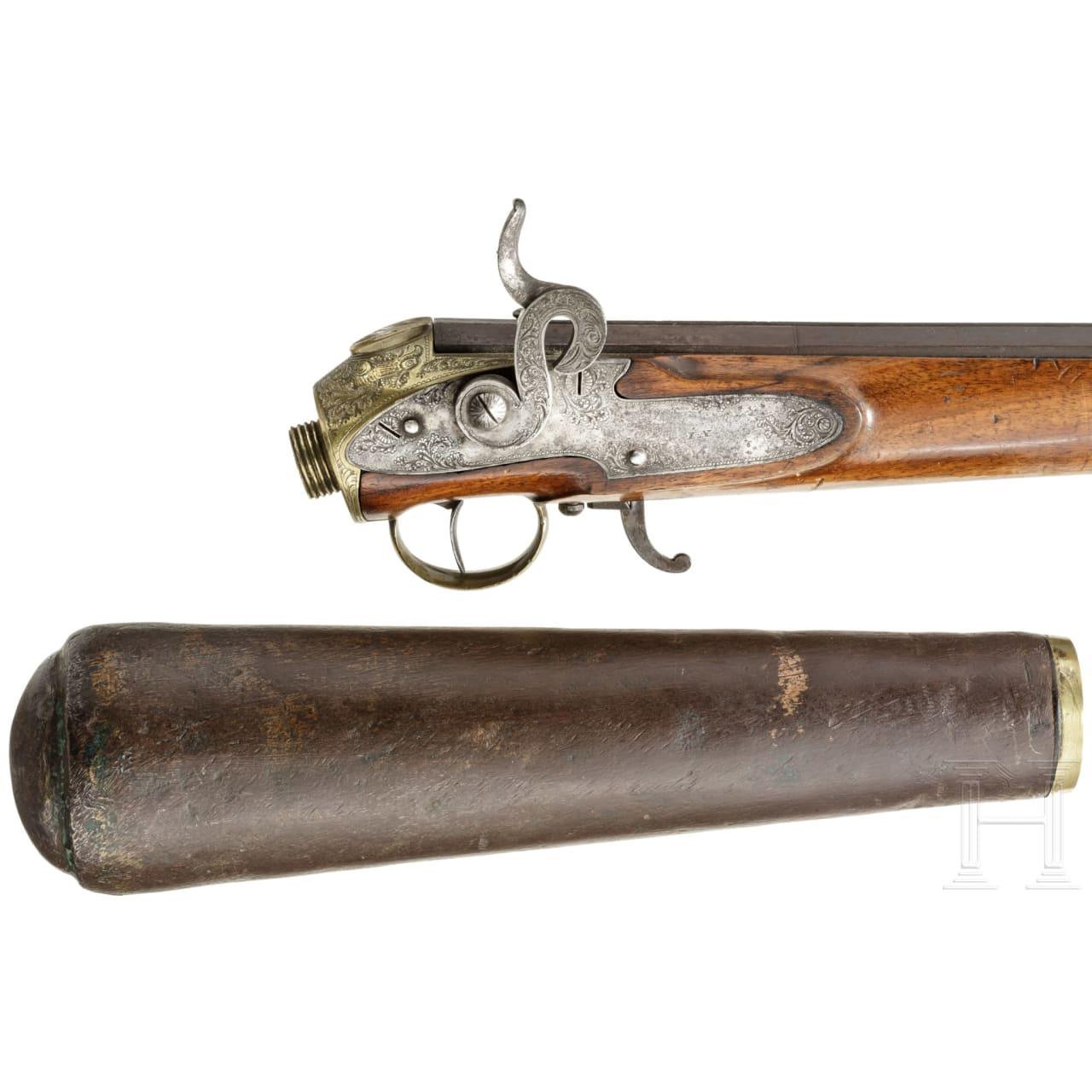 An Austrian air rifle by Schembor in Vienna, circa 1800