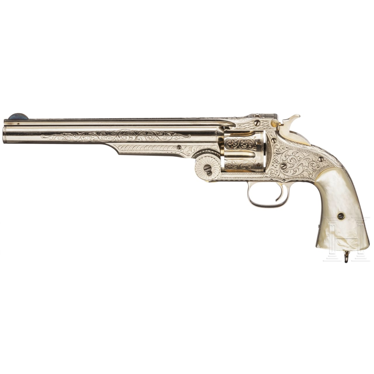 Smith & Wesson Model 3 Russian First Model in Luxus-Ausführung, im Kasten